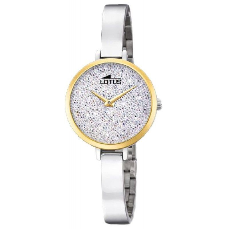29782a327756 Lotus Bliss Swarovski watch Woman 18562 1- TheTimeLovers