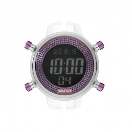 Watx and Co Digital Sparkling Purple Talla M watch Woman RWA1057