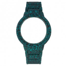 Watx and Co Sparkling Blue Glitter Talla M watch Woman COWA1017