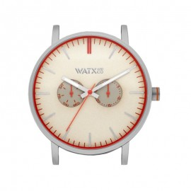 Caja Watx and Co 44 Analogic Terrestre Champagne watch Unisex WXCA2711