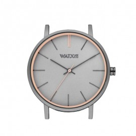 Caja Watx and Co 38 Analogic Granite Grey watch Unisex WXCA3013