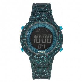 Montre Watx and Co Digital Sparkling Verdeagua Unisexe .