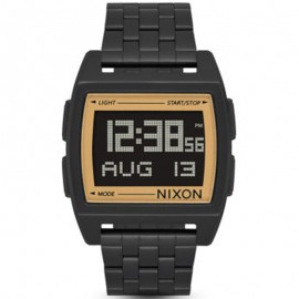 Reloj Nixon Base Black Gold Unisex A11071031