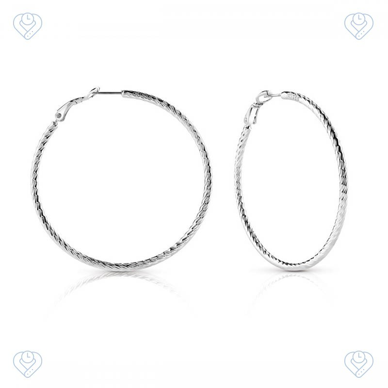 4fb900e08767 Pendientes Guess Hoop I Did It Again UBE84075- TheTimeLovers