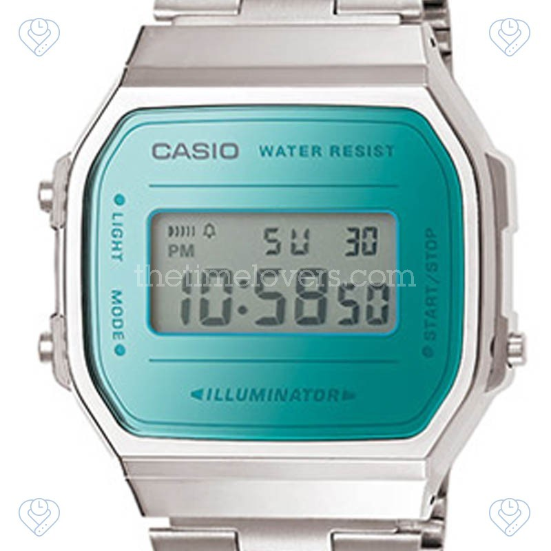 2d439d32235d Reloj Casio Collection Unisex A168WEM-2EF - The Time Lovers