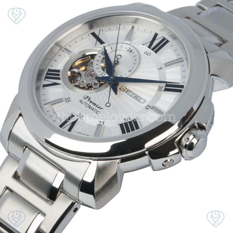 how to adjust time seiko automatic watch
