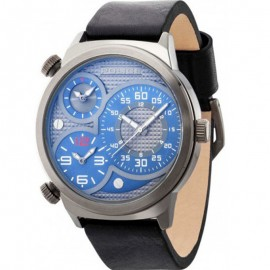 Montre Police Elapid Trial T Grey Dial Black Strap Homme R1451258003