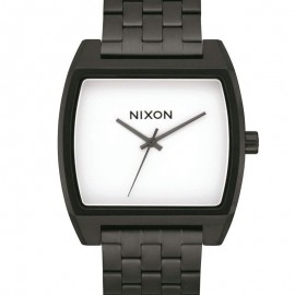 Nixon Time Tracker Black/White watch Unisex A1245005