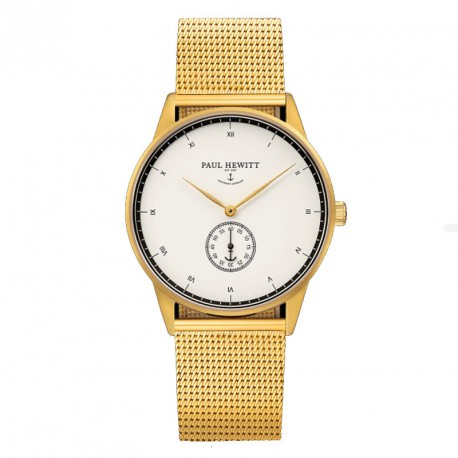 Paul Hewitt Line Mark I Gold Unisex Watch 16-503