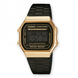 Casio Retro Bicolor watch Unisex A168WEGB-1BEF