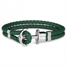 Pulsera Paul Hewitt Verde Piel 21 mm watch Unisex 68/21