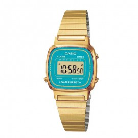 Casio Retro Dorado watch Woman LA670WEGA-2EF