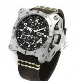 Aviador Instruments Esfera Negra watch Man AV-1196-PME