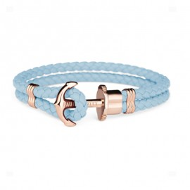 Pulsera Paul Hewitt Azul Piel 18 cm watch Unisex PH-L-R-NI-M